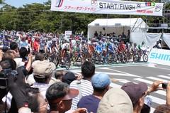 堺国際サイクルロード スタート前